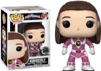 Pop! Television 671 Power Rangers: Kimberly - Pink Ranger Unmasked